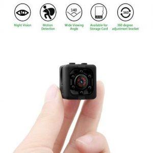 Cámara de vídeo vigilancia oculta con detector de movimiento