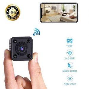 Cámara de vídeo vigilancia oculta con wifi