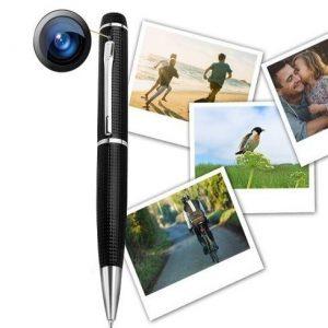 Cámara de vídeo vigilancia oculta en bolígrafo