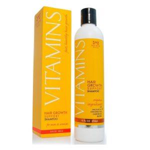 Champú con vitaminas naturales para la alopecia