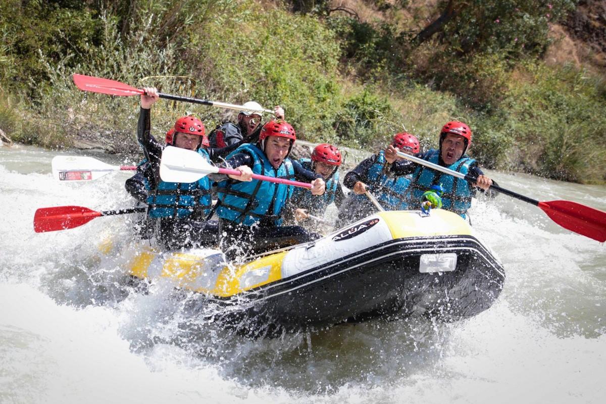 Ríos para hacer rafting en Andalucía