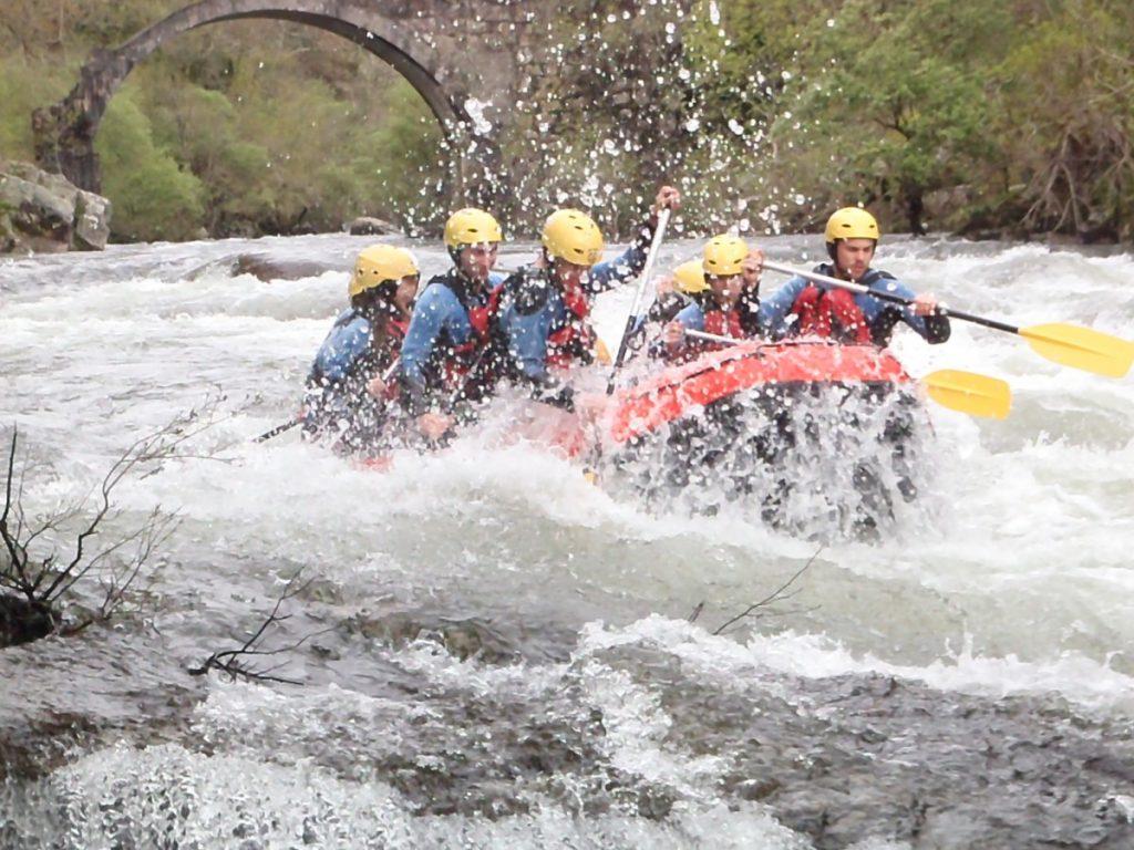 Ríos para hacer rafting en Galicia