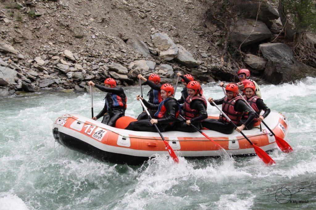Ríos para hacer rafting en Cataluña