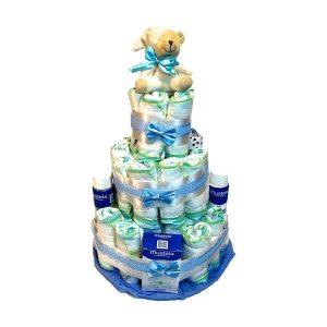 Las 8 mejores tartas de pañales para bebés